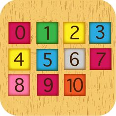 Number 0-10 Number 0-10 is the education app for children age 3-4 years old .This app teaches kids to count objects, practice recognise numbers, compare objects and numbers and handle shapes.Children will have fun to play with colourful cube numbers that motion under gravity force .Children will have fun for learning to count numbers and love mathematic.