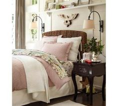 completely organize your nightstand for more restful zzzzzzs seagrass headboard30 - Seagrass Headboard