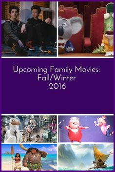 2016 continues to be the year of the family movie! Quick review of which you won't want to miss this fall and holiday season. Upcoming Family Movies Fall/Winter 2016|The Holy Mess