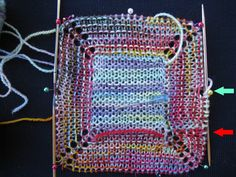 utterly brilliant -- garter stitch in the round without purl rows.