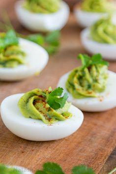 Guacamole Stuffed Eggs Recipe