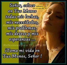 1000 images about oraciones for En tus manos senor