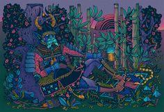 Digital Work 2013 on Illustration Served