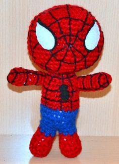 Cute Crocheted Spiderman
