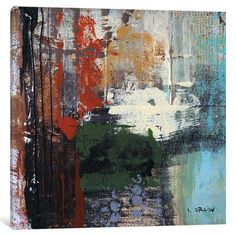 East Urban Home Busy Urban City by Irena Orlov Painting Print on Wrapped Canvas Size: