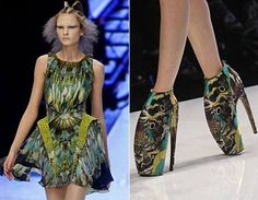 Alexander Mcqueen Plato Atlantis Collection. Many say this collection was his masterpiece and unlike anything else ever created. According to McQueen, he was inspired by an apocalyptic forecast of the future in which there would be an ecological meltdown of the world.
