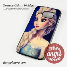 disney elsa queen art Phone Case for Samsung Galaxy S3/S4/S5/S6/S6 Edge/S6 Edge Plus
