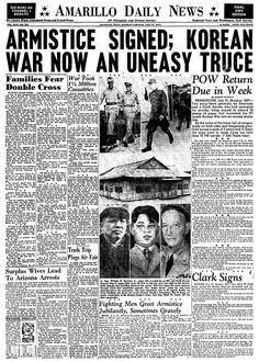 Obviously the Korean war is going on, though I don't see Katharine paying much attention. She has her own problems. Newspaper Front Pages, Vintage Newspaper, Newspaper Article, World War I, World History, Chinese Newspaper, Newspaper Headlines, Headline News, Korean War