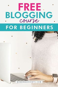 Want to start a blog to make money? Join this free blogging course packed full of information on how to start a blog for beginners. This course includes tons of ideas to help you grow a profitable blog! Enter your name and email and I'll send over the lessons! #startablog #bloggingtips