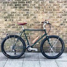 "415 gilla-markeringar, 9 kommentarer - Stanforth Bikes (@stanforthbikes) på Instagram: ""650b steel tourer #honeyb17 #brassbottle #650b #continentalraceking #steelisreal"""