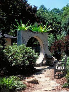 Japanese Garden and Desert House at Atlanta Botanical Gardens