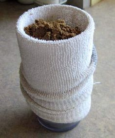 Making a sand water filter
