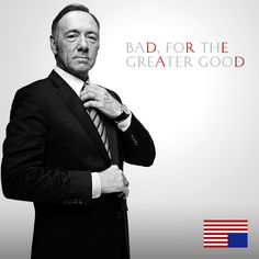 "Kevin Spacey as Francis ""Frank"" Underwood, an ambitious Democratic congressman from South Carolina (and House Majority Whip) turned Vice President. House of Cards."