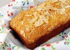 Pumpkin Cream Cheese Bread with Almond Streusel