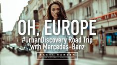 Six countries, one week, so many stories, beautiful people and breathtaking landscapes. To be on the road is to always look ahead. To always search for the next shot, the next sunset, to be in awe of the faces you meet along the way.  Mercedes-Benz invited us on an #UrbanDiscovery road trip through Europe with the CLA Coupé & CLA Shooting Break. We drove 2500 Km through six countries - Italy, Switzerland, France, Belgium, the Netherlands and Germany in 7 days, constantly driving and shooting…