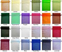 5 x 7 Organza Sheer Bags Solid Color Favor Bags, Gift Bags, Cheap Bags, Shower Favors, Organza Bags, Hostess Gifts, Small Gifts, Gift Baskets, Wedding Favors