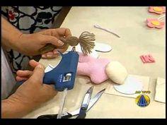 Cordão Decorado de bonecas   Artesanato Sabor de vida