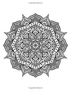 The World's Best Mandala Coloring Book: A Stress Management Coloring Book For Adults: Amazon.de: Adult Coloring Books: Fremdsprachige Bücher
