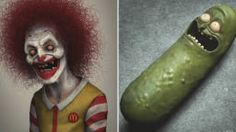 Artist Turns Pop Culture Icons Into Creepy Real Life 3D Arts