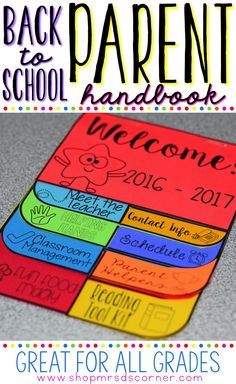 It's time to get rid of the mundane folders full of paperwork and give parents a classroom handbook they will actually use! Give parents something they want to take home during Open House, Back to School Night, or Meet the Teacher. Include double the classroom information in half the size. This editable dual tab flip book is just what the teacher ordered! Add a magnet to the back so parents can keep it on their fridge, a place they will see it daily!