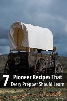 7 Pioneer Recipes Every Prepper Should Learn - You may want to familiarize yourself with these recipes so you can cook meals when there isn't electricity and you only have your food stockpile.