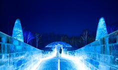 星野リゾート トマム 氷の教会 #IceChapel #IceVillage #tomamu Hokkaido