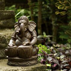 Статуи Будды в современном саду. 30 фото - 1 Апреля 2014 - Статуи Будды и Хотея - Садовые статуи для сада. Будда, Хотей, Ганеша.