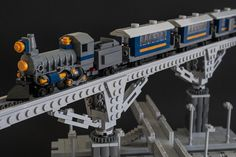 Micro Choo-choo Train by Galaktek