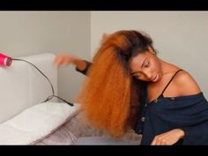 Flat Ironing Natural Hair | Curly To Straight [Video]  Read the article here - http://blackhairinformation.com/video-gallery/flat-ironing-natural-hair-curly-straight-video/