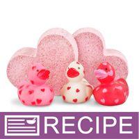 HomeMade Bath Recipes ~ RECIPE: Valentine Ducky Bath Fizzies - Wholesale Supplies Plus