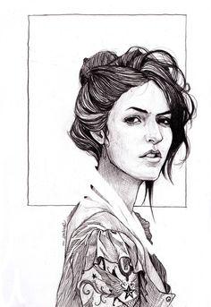 angi by Dan Mora, via Behance
