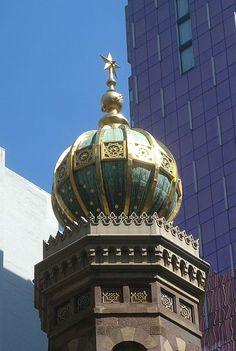 Moorish: Central Synagogue Tower in Manhattan, NYC