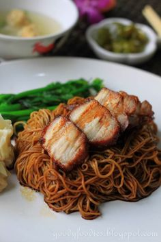Eat Your Heart Out: Recipe: Dry Wonton Noodles (Konlo Wantan Mee) with Homemade Char Siu