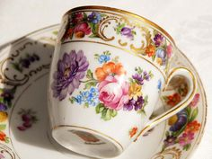 Schumann Bavaria Teacup and Saucer