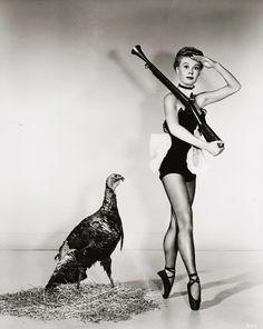Vintage Thanksgiving Beauty - Vera-Ellen
