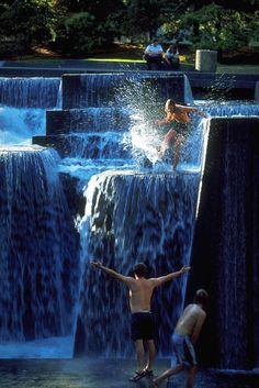 Ira Keller Fountain Portland