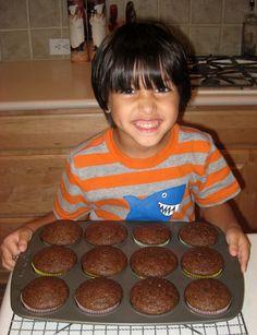 BentoLunch.net - Chocolate Zucchini Muffins