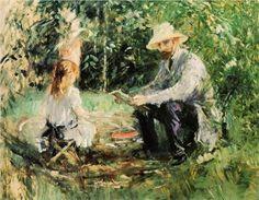 Julie and Eugene Manet - Berthe Morisot