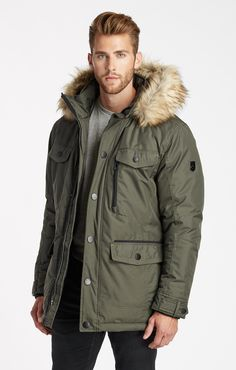 Cain Parka  - Forest Green