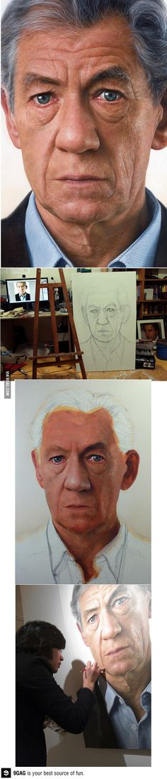 That moment when you realized this is just a painting...