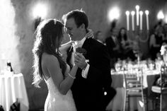 Etude winery and Meritage resort wedding in Napa california black and white wedding photos first dance