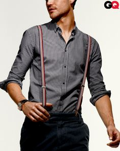 "The Best Men's Fashion: GQ Endorses: Wear It Now: GQ  ""Suspenders: Not Just for Bankers Anymore"""