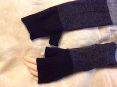 A personal favorite from my Etsy shop https://www.etsy.com/listing/265522493/long-black-gray-chargray-cashmere-arm