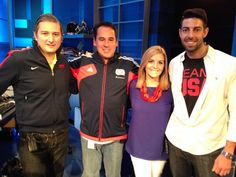 The staff of Mike and Mike Mike And Mike, Espn