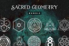 Sacred Geometry Bundle • Save 60% by Tugcu Design Co. on @creativemarket
