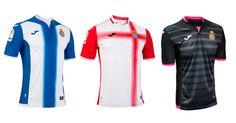 Camisas do Espanyol 2016-2017 Joma
