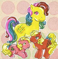 Starter Ponies of True by SkyPinPony.deviantart.com on @DeviantArt