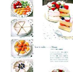 My Favorite Felt Sweets  Japanese craft book in by MeMeCraftwork, $14.00