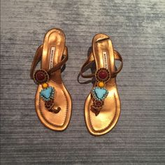 Manolo Blahnik Low Heel