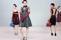 Prada Fall/Winter 2015/16 by Steven Meisel - Page 2 | The Fashionography